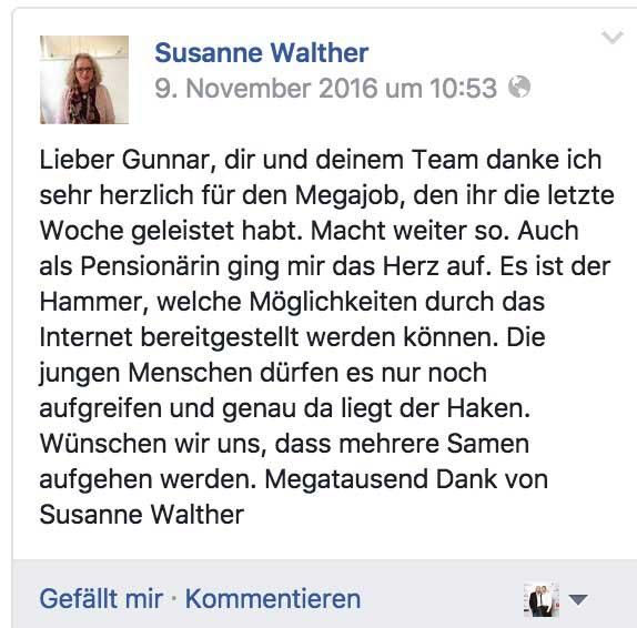 Gunnar Kessler Coachinganfrage Testimonial